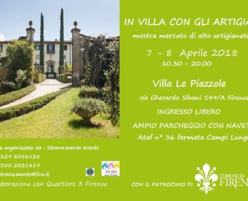Villa Artigiani 7 8 aprile